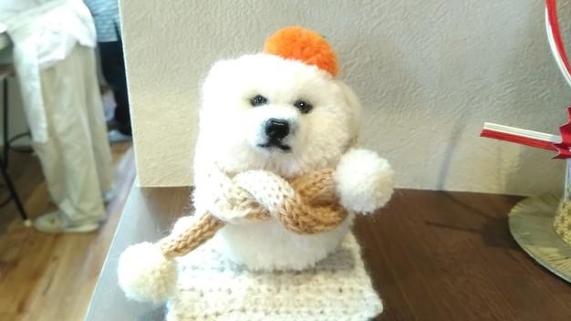 マフラー 犬