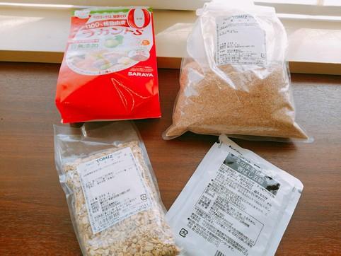雑穀ふすまパン 材料