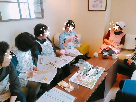 毛糸ポンポン教室