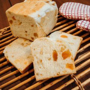 ★★アプリコットとオレンジの食パン