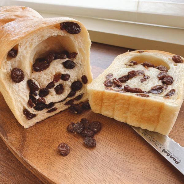 ★★★74%レーズン食パン