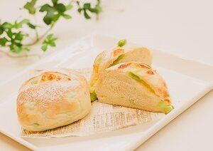 ★★枝豆チーズパン